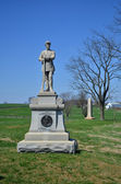 130th Pennsylvania Infantry Monument - Antietam National Battlefield, Maryland — Stock Photo