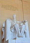 Pomnik lincolna — Zdjęcie stockowe