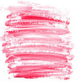 Red watercolor, acril stripe background isolated on background — Stock Photo