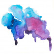 Watercolor blots background — Stock Photo