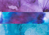 Watercolor backgrounds — Stock Photo
