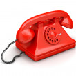 Old fashion telephone — Stock Photo #46399775