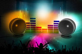Music speaker — Stock Photo