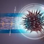 Virus 3d image — Stock Photo #49445555