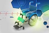 Wheel chair — Stock Photo