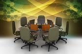 Conferentietafel — Stockfoto