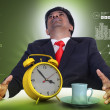 Man resting with cup of tea — Stock Photo #50237099