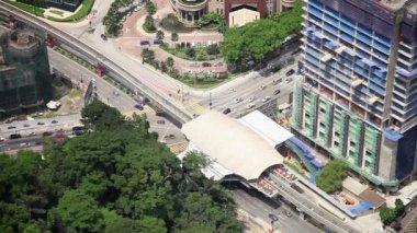 Panorama of the capital of Malaysia Kuala Lumpur — Stock Video