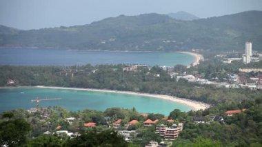 Tailândia. panorama da ilha de phuket — Vídeo stock