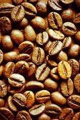 Koffiebonen achtergrond — Stockfoto