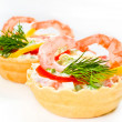 Snack from shrimps — Foto de Stock