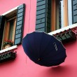 Colored houses in Burano Island — Stock Photo