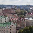 Panoramaview of Vyborg — Stock Photo