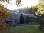 Hydroelectric dam Parizov Czech Republic — Stock Photo