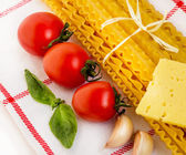 Pasta. Italian Cuisine. — Stock Photo