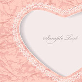 Tarjeta del día de San Valentín. — Vector de stock