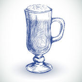 Coffee cup — Vettoriale Stock