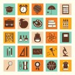 Back to school icons set — Stock Vector #50703237
