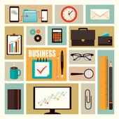 Office items — Stock Vector