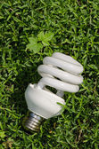 Lámpara ahorradora de energía — Foto de Stock
