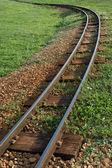 Train to nowhere — Stock Photo