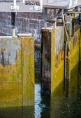 Opening sluice — Stock Photo