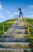Stairs to Success — Stock Photo