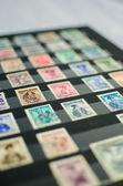 Stamp album — Stock Photo
