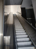 Airport Escalators — Foto Stock