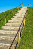 Steep ascend — Stock Photo