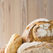 Multiple breads — Stock Photo
