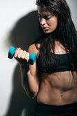 Ženského fitness — Stock fotografie