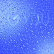 Water drops background,  image — Stock Photo