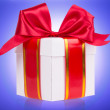 Gift box with bow — Stock Photo #39018563