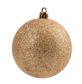 Christmas ball isolated on white background — Stock Photo