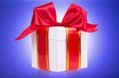 礼品盒用弓 — 图库照片