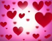 Fundo dos corações — Foto Stock