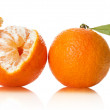 Orange on white background — Stock Photo #40033561