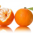 Orange on white background — Stock Photo #40033739