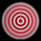 Darts on a black background — Stock Photo