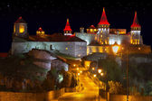 Night view of the Old Castle — Stock Photo