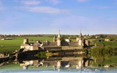 Panoramic view of medieval Old Castle — Fotografia Stock