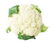 Cauliflower on the white background — Stock Photo