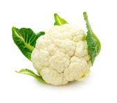 Fresh cauliflower isolated on a white background — Stock Photo