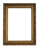 Vintage frame isolated on the white background — Stock Photo