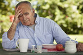 Depression Of A Senior Man — Stock Photo
