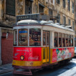 Old tram. Lisbon.   — Stock Photo