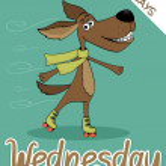 Wednesday — Stock Vector