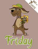 Friday — Stock Vector