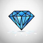 Vector diamond — Stok Vektör